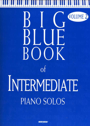 Big Blue Book of Intermediate Piano Solos, Volume 2   -