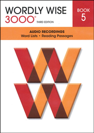 Wordly Wise 3000 Book 5 Audio CD, 3rd Edition   -              By: Kenneth Hodkinson, Sandra Adams