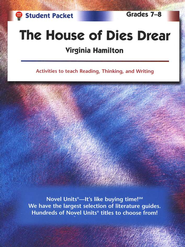 House of Dies Drear, Novel Units Student Packet, Grades 7-8   -     By: Virginia Hamilton