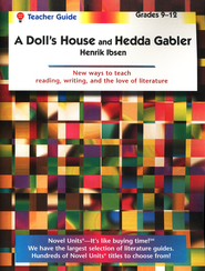 Doll's House/Hedda Gabler, Novel Units Teacher's Guide, Gr. 9-12   -     By: Henrik Ibsen