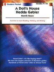 Doll's House/Hedda Gabler, Novel Units Student Packet, Gr. 9-12   -     By: Henrik Ibsen