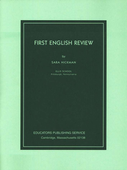 First English Review, Grades 9-10  - Slightly Imperfect  -