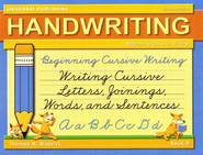 Beginning Cursive Writing-Book D, 2nd Edition Grade 3   -     By: Thomas M. Wasylyk