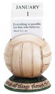 Volleyball Scripture Holder Calendar  -