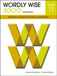 Wordly Wise 3000 Student Book 11, 3rd Edition   -              By: Kenneth Hodkinson, Sandra Adams