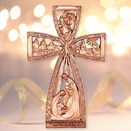 Nativity Wall Cross  -