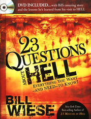 23 Questions About Hell--Book and DVD  - Slightly Imperfect  -