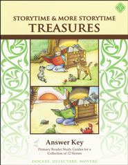StoryTime Treasures, Teacher's Key                        -