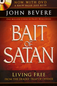 The Bait of Satan: Living Free From the Deadly Trap of Offense, with DVD  -     By: John Bevere