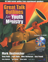Great Talk Outlines for Youth Ministry: 40 Field-Tested Guides from Experienced Speakers - Slightly Imperfect  -