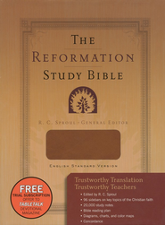 ESV Reformation Study Bible (2nd Edition), Leather-Like, Brown  -     Edited By: R.C. Sproul