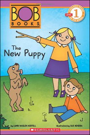 Scholastic Reader Level 1: Bob Books #1: The New Puppy   -              By: Lynn Maslen Kertell, Sue Hendra