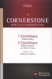 1 & 2 Corinthians: NLT Cornerstone Biblical Commentary  -     By: William Baker, Ralph P. Martin, Carl N. Toney