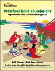 Bible Foundations Curriculum Ages 2-5 Fall, Year A - PDF Download  [Download] -     By: Christian Ed Publishers