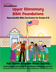 Bible Foundations Curriculum Grades 4-6 Fall, Year A - PDF Download  [Download] -     By: Christian Ed Publishers