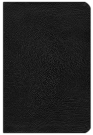 NLT Life Application Study Bible, Bonded Leather, Black   -