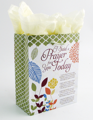 I Said a Prayer for You Today Gift Bag, Medium  -