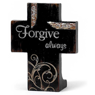 Forgive Always Tabletop Cross  -