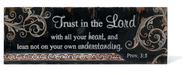 Trust in the Lord Plaque  -