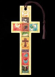 Name Above All Names Cross Bookmark  -     By: Krista Hamrick