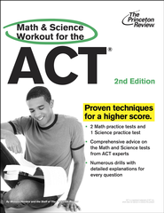 Math and Science Workout for the ACT, 2nd Edition - eBook  -     By: Princeton Review
