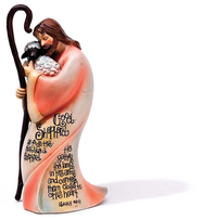Good Shepherd Figurine  -     By: Krista Hamrick