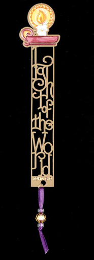 Name Above All Names Bookmark, Light of the World  -              By: Krista Hamrick