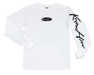 Know Him Script, Long Sleeve Shirt, White, Extra Large  -