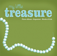 My Little Treasure: Photo Album, Organizer, Words of of Life  -              By: Debra Montague Chandler