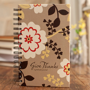 Give Thanks Floral Journal  -