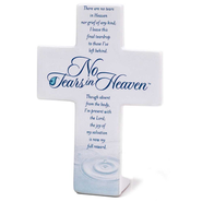 No Tears in Heaven, Tabletop Cross  -