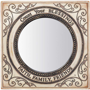 Count Your Blessings Wall Mirror  -