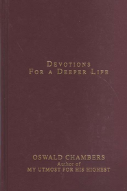 Contemporary Classic/Devotions for a Deeper Life - eBook  -     By: Oswald Chambers