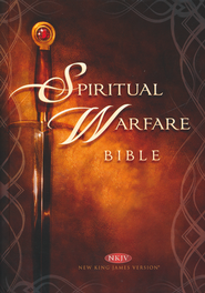 NKJV Spiritual Warfare Bible  - Slightly Imperfect  -