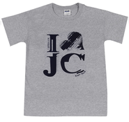 I Love JC Shirt, Gray, Large  -