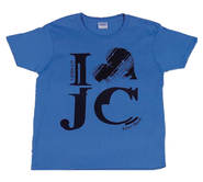 I Love Jesus Shirt, Blue, Youth Extra Small  -