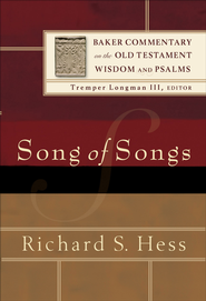 Song of Songs (Baker Commentary on the Old Testament Wisdom and Psalms) - eBook  -     By: Richard S. Hess