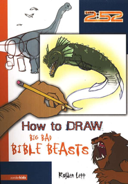 How to Draw Big Bad Bible Beasts - eBook  -     By: Royden Lepp