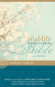 NIV Real-Life Devotional Bible for Women: Insights for Everyday Life / Special edition - eBook  -     By: Lysa TerKeurst