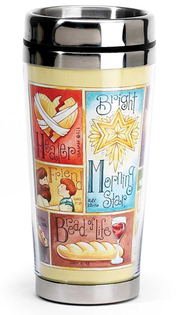 Name Above All Names Travel Mug  -     By: Krista Hamrick