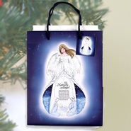 Nativity Angel Gift Bag Medium  -