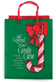 Legend of the Candy Cane Gift Bag Small  -