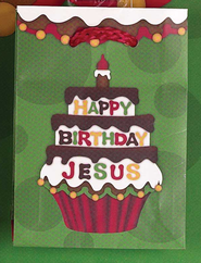 Happy Birthday Jesus Mini Gift Bag  -
