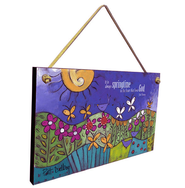 It Is Always Springtime Plaque  -