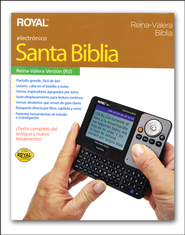 Biblia Electronica Royal Reina Valera  (Reina Valera Royal Electronic Bible)  -