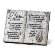 No Tears in Heaven Tabletop Plaque   -