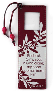 Find Rest, O My Soul Magnifier Bookmark  -