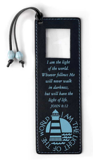 I Am the Light of the World Magnifier Bookmark  -