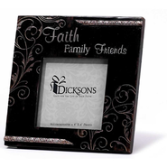 Faith, Family, Friends Photo Frame  -