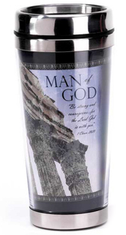 Man of God Travel Mug  -